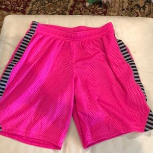 Mesh shorts from Academy.   bcg junior XS.